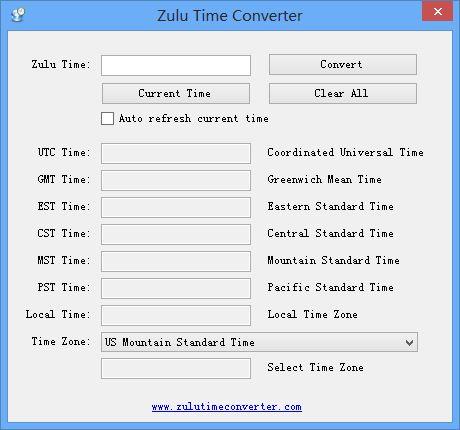 zulu time converter